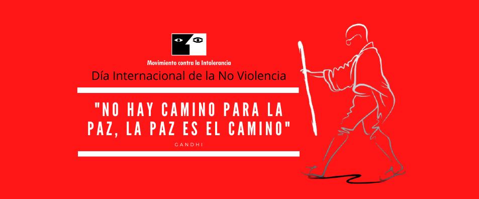 2 de Octubre. Día Internacional de la No Violencia
